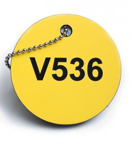 Valve Disc Tags - Thickness 3mm