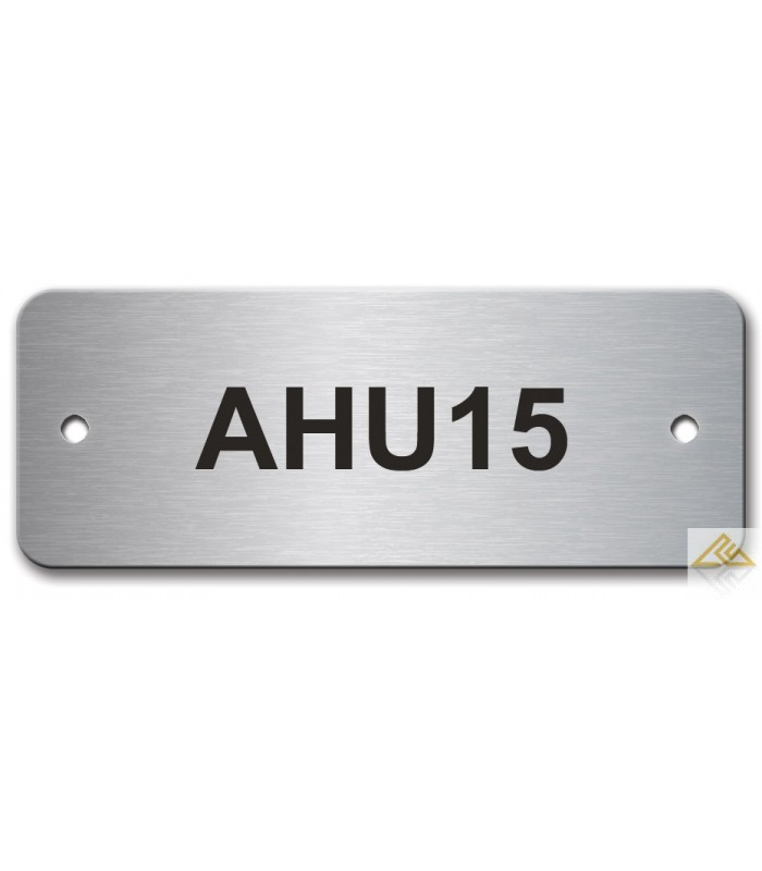 Stainless Steel Name Plate 65mm X 25mm