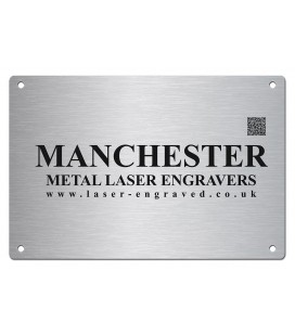 Stainless Steel Name Plate 300mm x 200mm