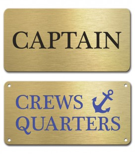 Brass Plate 100mm x 50mm - Mechanically Engraved