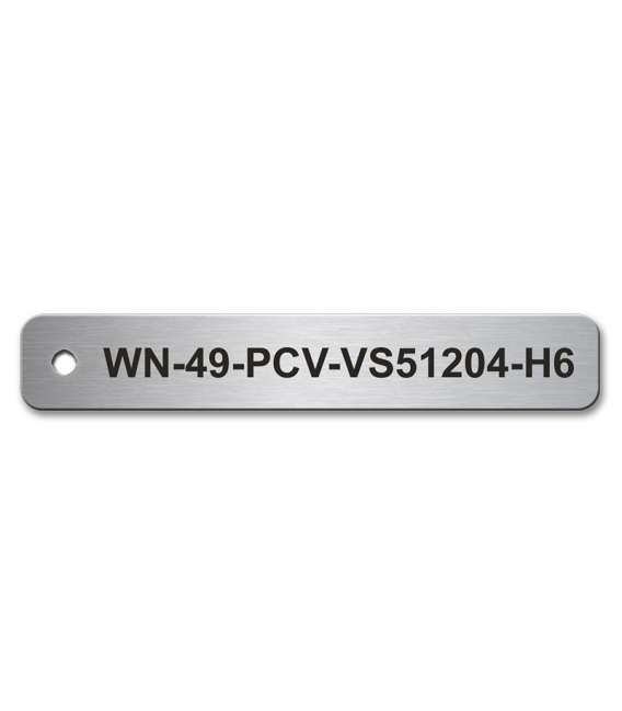 Stainless Steel Tag 90mm x 15mm