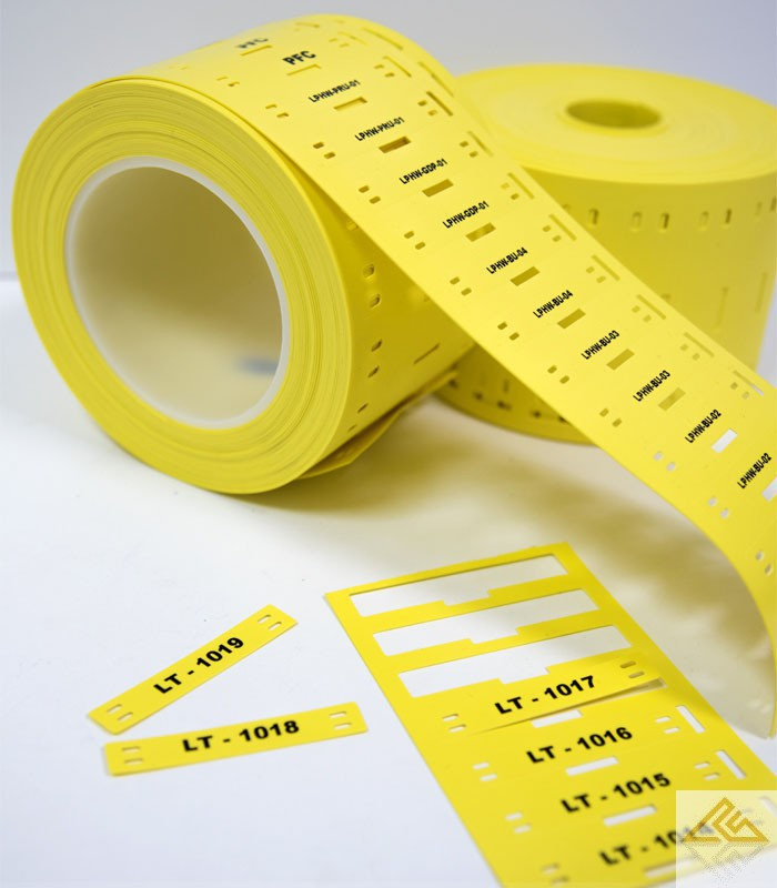 Cable Tag Rolls For The Labelbug Printer