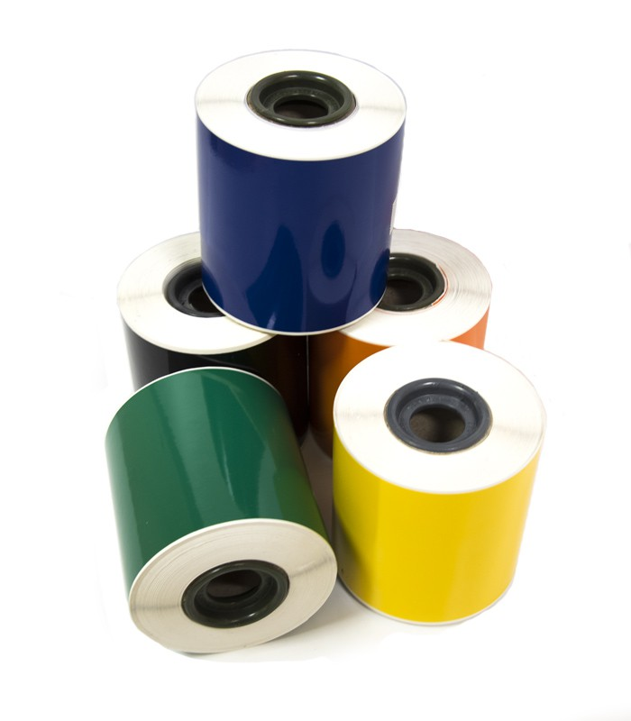 photo about Printable Vinyl Rolls identify Printable Vinyl Labels 100mm X 25M