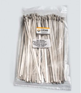 Stainless Steel Cable Ties 100 per Pack