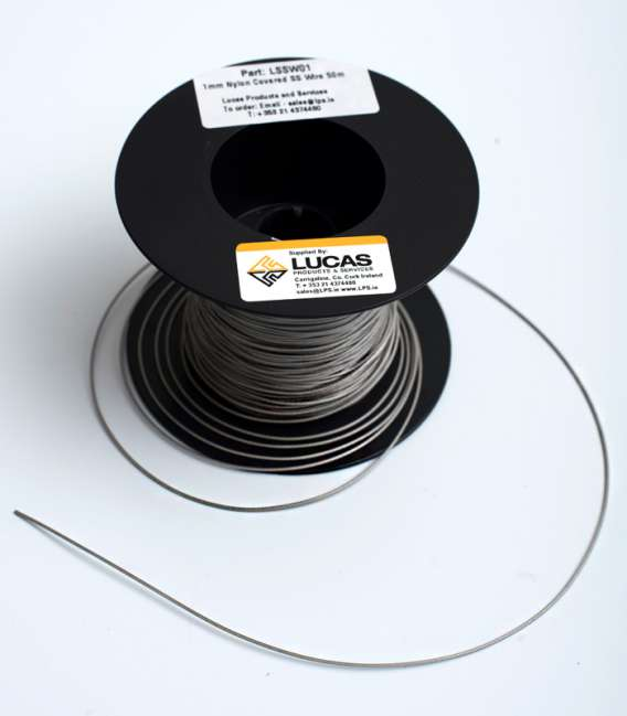 1mm Mylon Covered Stainless Steel Wire