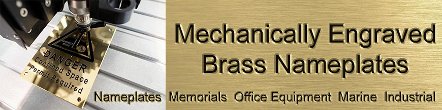Engraved Brass