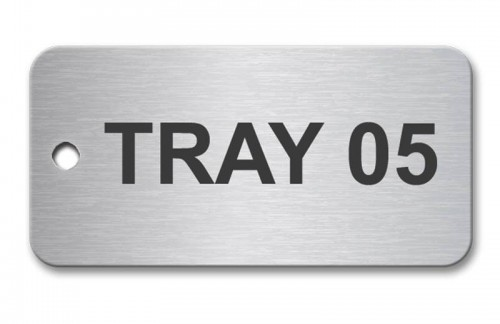 Stainless Steel Tag 50mm x 25mm - Our Top Seller Tag